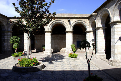 The nunnery was a maze of courtyards, narrow streets and living quarters.