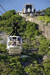 Next stop Sugarloaf. You get on 2 not so crappy trams and get rewarded wiith incredible views of Rio and Corcovado.