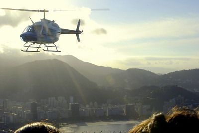 There is another way to get to the top of Sugarloaf if you are one of the rich and famous that is.