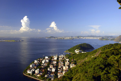 Sugarloaf provides a 360 degree view of Rio. This little community had a sailboat anchorage nearby so it had to make the website.