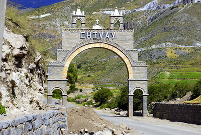 Chivay at last! This was our base for visiting Colca Canyon and the surrounding area.