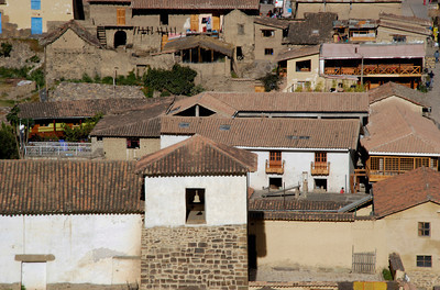 """And after a long day, we finally arrive in the town of Ollantaytambo. Although a lot of tourist go through here, the town remains as it was in """"olden times"""". As you will see the ruins are AMAZING!"""