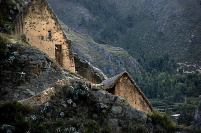 Ollantaytambo area. Not sure why we liked this photo. Maybe because it kind of looks like something out of a Hobbit movie.