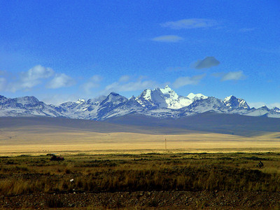 Once happily reunited with our bus, we sat back and enjoyed the views on the way to La Paz.