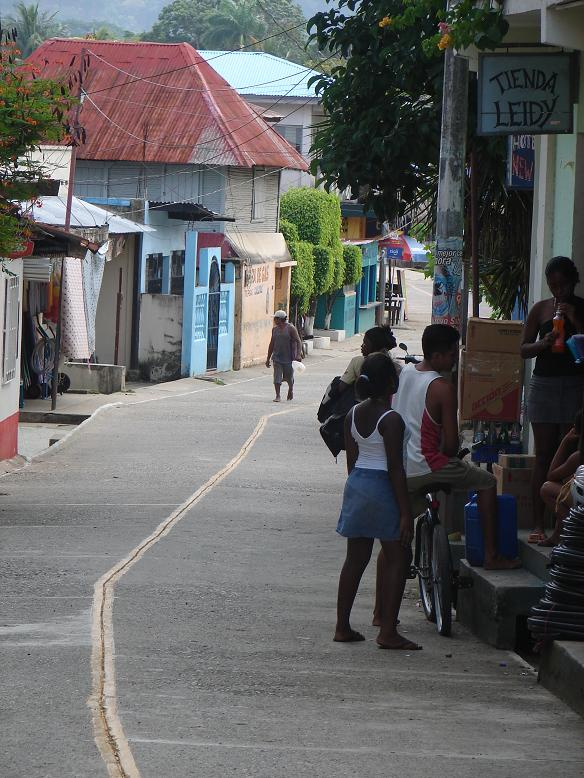 Finally, tummies full, we went exploring downtown Livingston. The mix of cultures in Livingston is amazing. But, the majority are Garifuna, descendants of African slaves brought to the new world. They revolted in 1795 and spread to Belize and Nicaragua from Honduras.