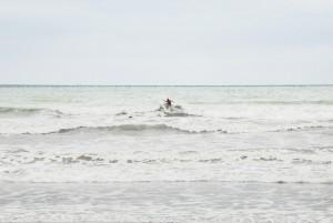 Surfer at Canoa