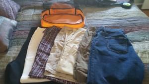 Jeans, convertibles, capris, shorts, pj bottoms, long undies and dress pants