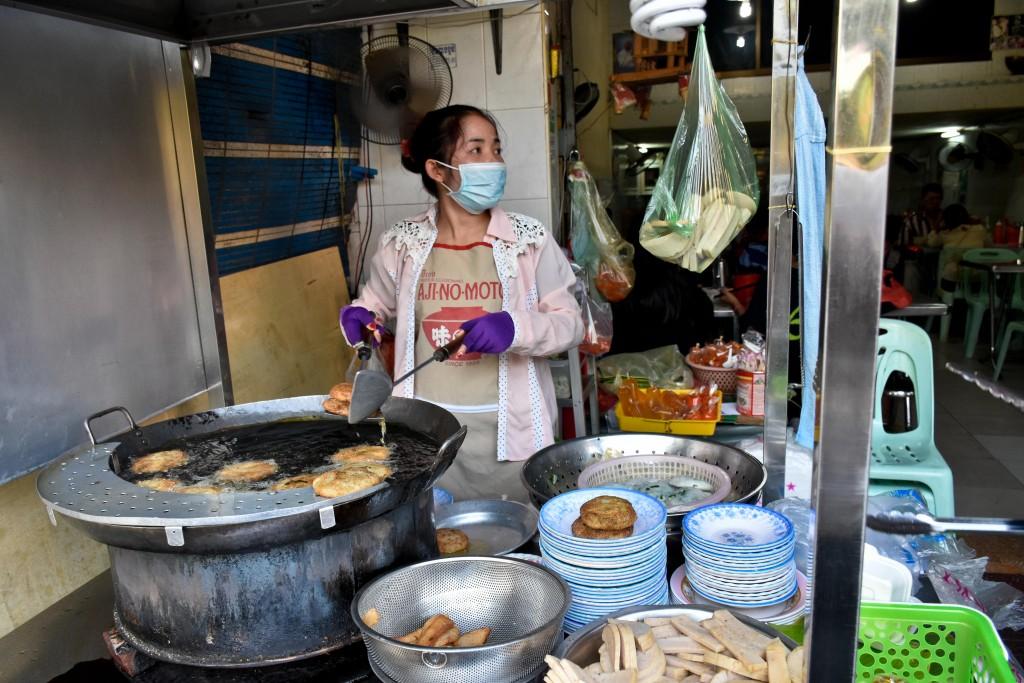 More street food kitchens.