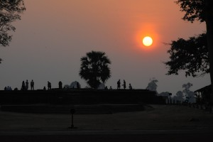 Sunrise at Angkor Wat. What else is there to say?