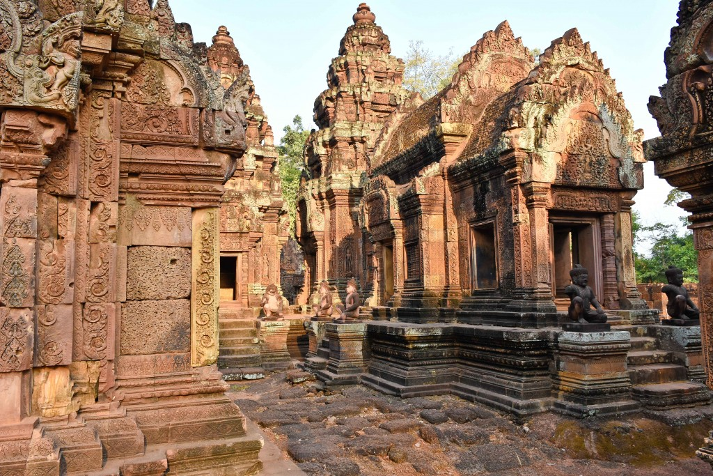 We found some of the 'lesser' temples to be very impressive and more accessible; fewer people.