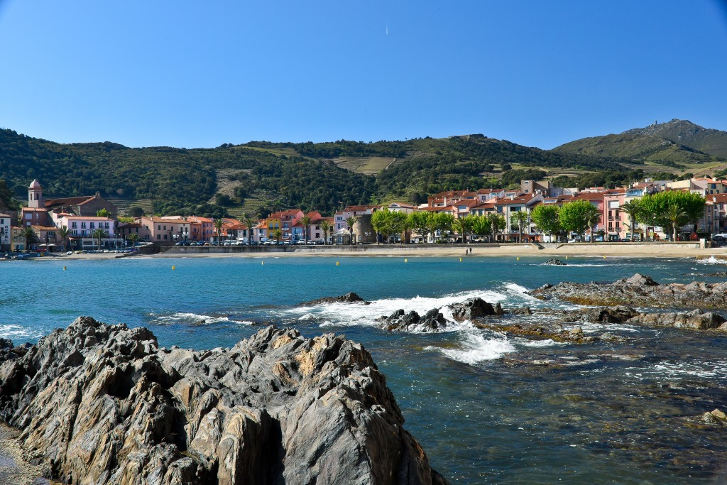 Collioure, France. Just a 1 euro bus ride from Perpignan and it only took about 45 minutes. Kind of pretty, eh?