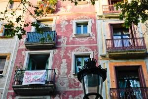 Las Ramblas. Beautiful Architecture, beautiful people, and wonderful food.