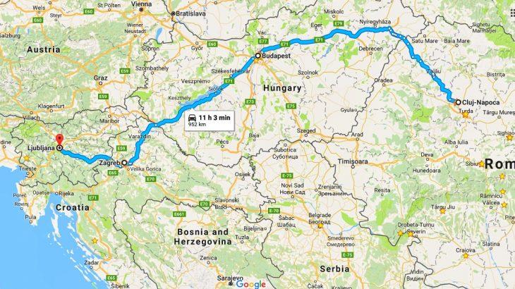 Budapest Zagreb Ljubljana Double Time To Western Europe Vinohiking Com